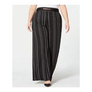 NY Collection Womens Pants Polkadot Print
